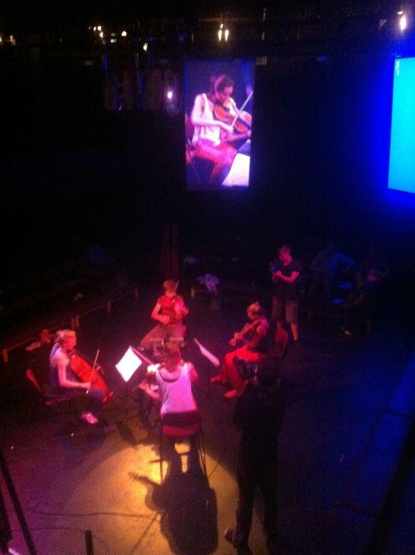 proms rehearsal