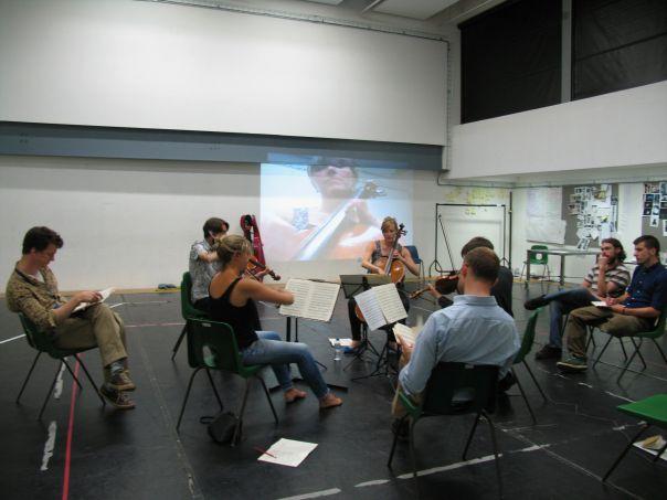 Sacconi rehearsal